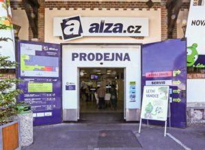 Prodejna Alza.cz v pražských Holešovicích Alza.cz měla včera zavřeno. Foto   Alza.cz b71942a42e